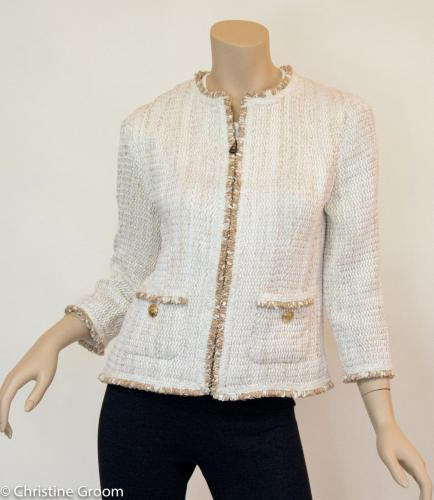 French Jacket in White and Gold