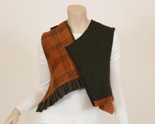 Mixed Wool Media Vest